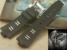 HQ 26mm rubber.silicon Band / strap.bracelet Diagono Scuba Diver Cronografo