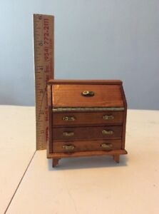 VERY NICE Wood Desk Miniature