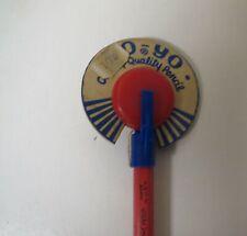 Vintage 1960s PENCIL YOYO Yo-Yo NM unused w/ TAG #4