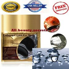 10X Black Pearl Gold Collagen Eye Mask Pad Patch Anti Ageing Wrinkles Eyelid New
