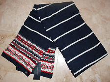 Tommy Hilfiger Mens SCARF Cotton/Wool Blend NEW WITH TAGS