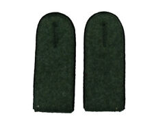 German WW2 Army M43 enlisted ranks shoulder boards.Black piping