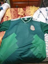 Mexico national soccer team green Jersey unbranded