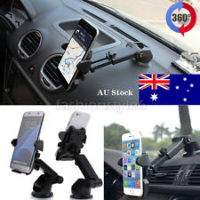 For Universal Mobile Phone 360° Rotation Car Windshield Mount Holder Cradle GPS