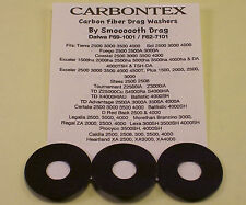 CARBONTEX DRAG WASHERS UPGRADE  DAIWA SPINNER F69-1001-F62-7101 SMOOTH DRAG+MORE