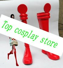 Alice Madness Returns Alice red cosplay shoes boots shoe boot