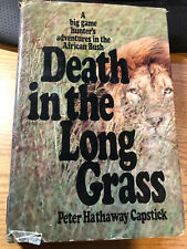 Death in the Long Grass: A Big Game Hunter's Adventures African Bush Lion Buff +