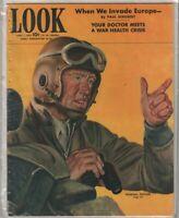 Look Magazine General Patton & Invading Europe June 1, 1943 010720nonr