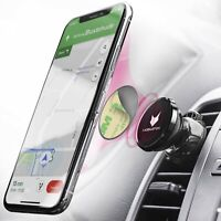 360° Universal Magnet KFZ Lüftungs Halter Halterung Clip Handy Auto Smartphone