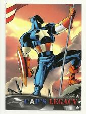 2014 Upper Deck CAPTAIN AMERICA The Winter Soldier Cap's Legacy # CL-5