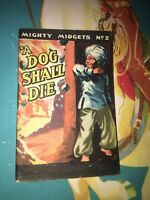 WW2 MIGHTY MIDGET BOOK #2  GIVEN TO CHILDREN TO READ IN AIR RAID SHELTERS