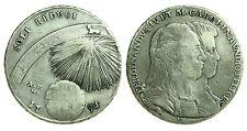 pci0285) Napoli regno Ferdinando IV grana 120 piastra 1791 SOLI REDUCI