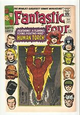 Fantastic Four #54 (Sept 1966) FN/VF 7.0   early Inhumans, Black Panther app