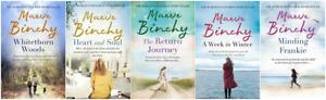 MAEVE BINCHY 5 BOOK SET VERY GOOD MINDING FRANKIE