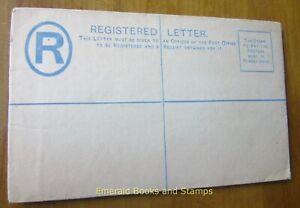 EBS ST LUCIA 1882 - QV Registered Envelope - 2d - H&G C1a De La Rue (824