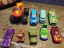 Cars Movie Cars Lot ×9