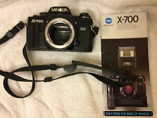 Minolta X-700 Mps Black 35mm Slr Film Camera body Japan - Lens Tested