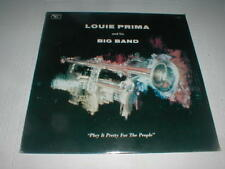 Louie Prima & Big Band Play It Pretty Lp Sealed Big Band Jazz Swing Orchestra