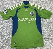 Adidas ClimaCool Seattle Sounders FC MLS Soccer Jersey Men's SZ S Green Blank
