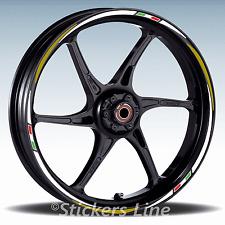 Adesivi ruote moto strisce cerchi per Aprilia SHIVER - Racing 3 stickers