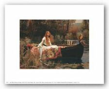 FANTASY ART PRINT The Lady of Shalott John William Waterhouse 14x11