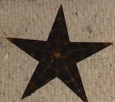 Best Rustic Genuine USA Amish Made Quality Primitive Tin 42 inch Barn Star BLACK