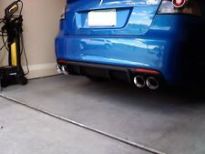 "2 STAINLESS STEEL DUAL EXHAUST TIPS 4.0 2.5 PONTIAC G8 GT GXP SS PAIR 2.5"" 4.0"""