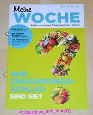 Weight Watchers Meine Woche 23.6 - 29.6 ProPoints™ Plan 360 Wochenbroschüre 2013