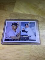 Mickey Mantle 2007 Topps No. 4 Of 5 New York Yankees Collector Card Rp GORGEOUS!