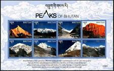 Mountain Peaks mnh Souvenir Sheet 2017 Bhutan