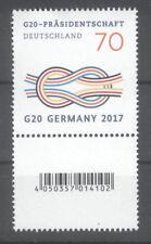 Deutschland 2017 MiNr. 3291 R Rollenmarke EAN Barcode Zählnummer 176 postfrisch
