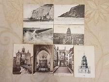 Lot Of 8 Antique Original Postcards - Calais, France