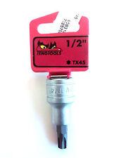 """Teng Tools M121245T-C with 1/2"""" Drive 117400606 Bit Socket Torx TX45"""
