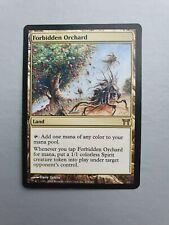 Forbidden Orchard, MTG Champions of Kamigawa (2004) Rare Land NM