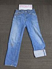 Vintage 501 Levis Redline Selvedge Denim Jeans DS 30x33