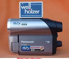 42xopt.Zoom! Panasonic NV-GS90+Camcorder MiniDV PAL+Opt. Bildstabi+ mit Gewähr