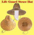 Lifeguard Straw Hat Life Guard Beach Garden Yard Farm sun protect Park Cruise