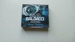 DAVID BALDACCI HOUR GAME CD AUDIOBOOK