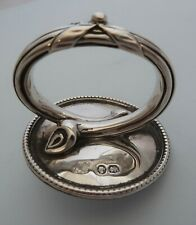 Victorian Solid SILVER Meat DOME Handle, London c1860. Daniel & Charles Houle