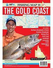 3 QLD Fishing Maps - Moreton Bay, Gold Coast, Southern QLD Lakes - NEW!