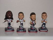 TOM BRADY, GRONK, EDELMAN, BLOUNT Patriots Bobble Head Mini SB51 Champs Set of 4
