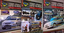 Lot de 3 Revues Expert Automobile Ford VW Mazda Citroen Renault Peugeot etc ...