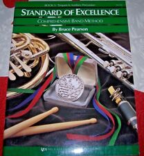 Standard of Excellence - Timpani & Aux. Percussion Bk.3