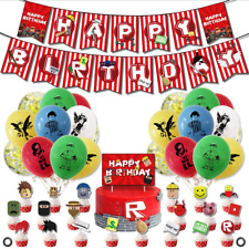 Roblox Party Supplies, Roblox Birthday Party Decorations