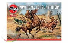 Airfix 00731V WWI British Army Horse Artillery 1/72 Scale Plastic Model Figures