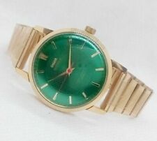 VINTAGE H.M.T SONA SUPER SLIM HAND_WINDING MADE IN INDIA MEN'S WRISTWATCH.