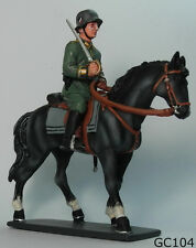 Metal Toy Solder 1:30 Germany Cavalry WW2 Whermachi Thomas Gunn GC104