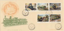 GB :1985 FAMOUS TRAINS-Bradbury cover(Dean Goods)-CROWTHORNE STATION