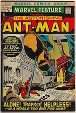 Marvel Feature #4 (Marvel 1972) VF: the return of Ant-Man/Spider-Man