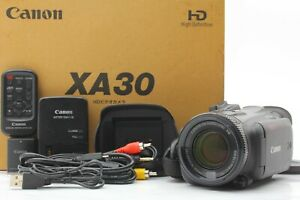 *NEAR MINT IN BOX*CANON XA30 HD Professional Camcorder Video Camera #FedEx#JAPAN